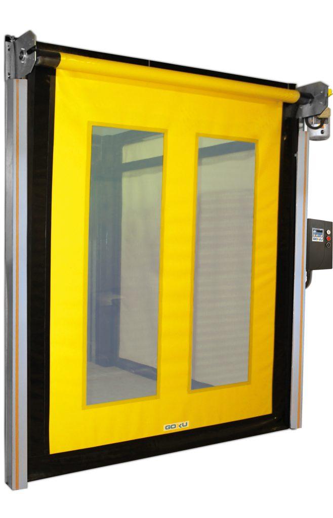 Ziproll - Zipppered high speed pvc doors