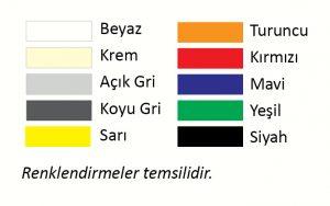 Renk Seçenekleri