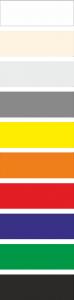 Fold-up Mega PVC Colours
