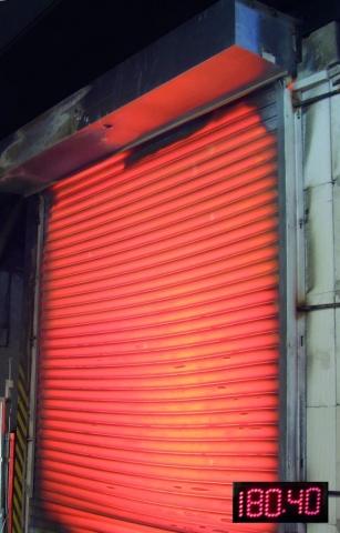 Yangın Testi 180 °C